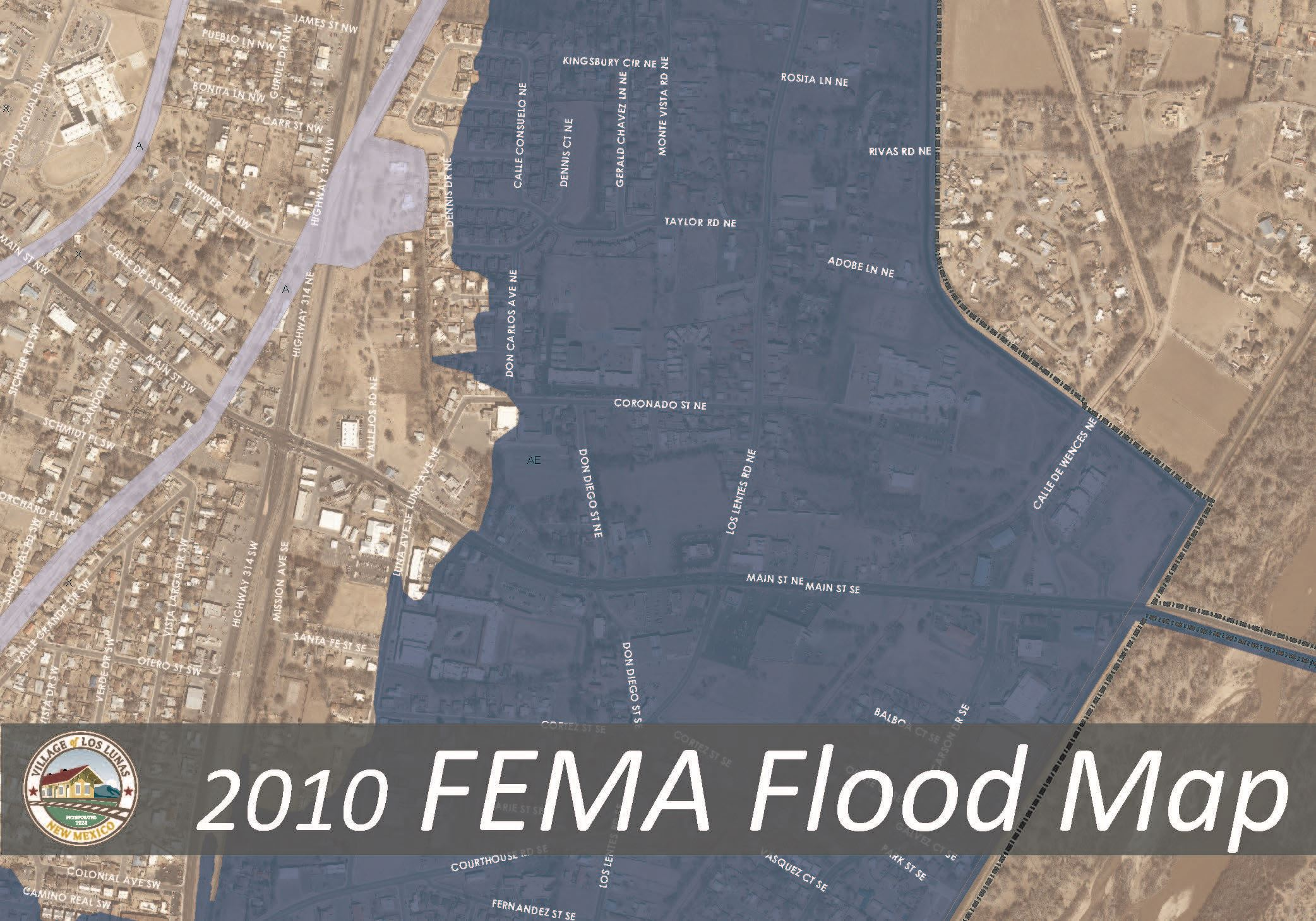 2010 Flood Map Updated