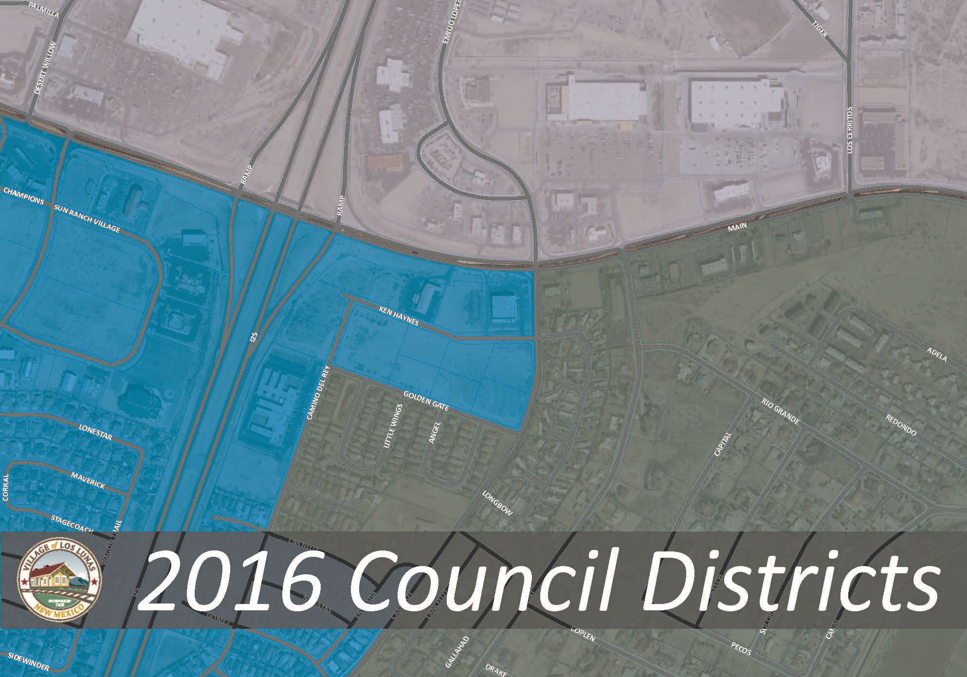 2016 Council Districts Updated