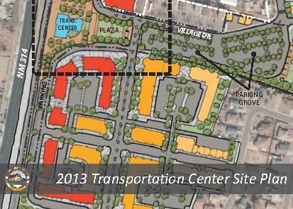 2013 Transportation Center Site Plan