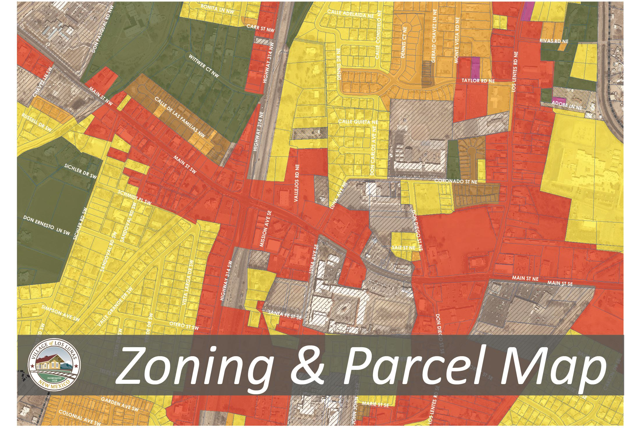 Zoning and Parcel Map Updated