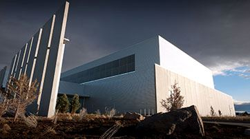 Facebook Data Center Prinville, OR