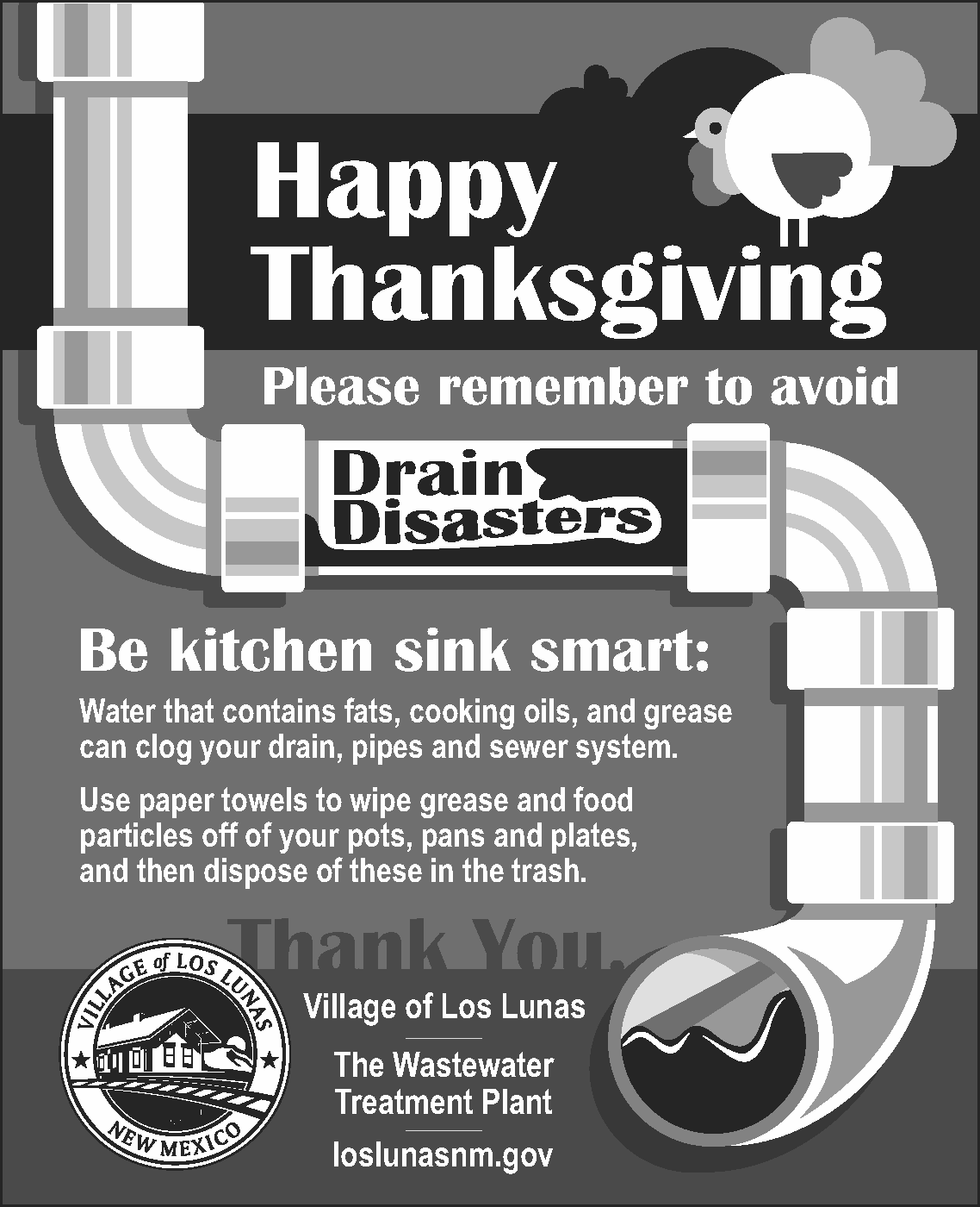 Thanksgiving Water Ad