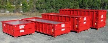 Examples of roll off bins