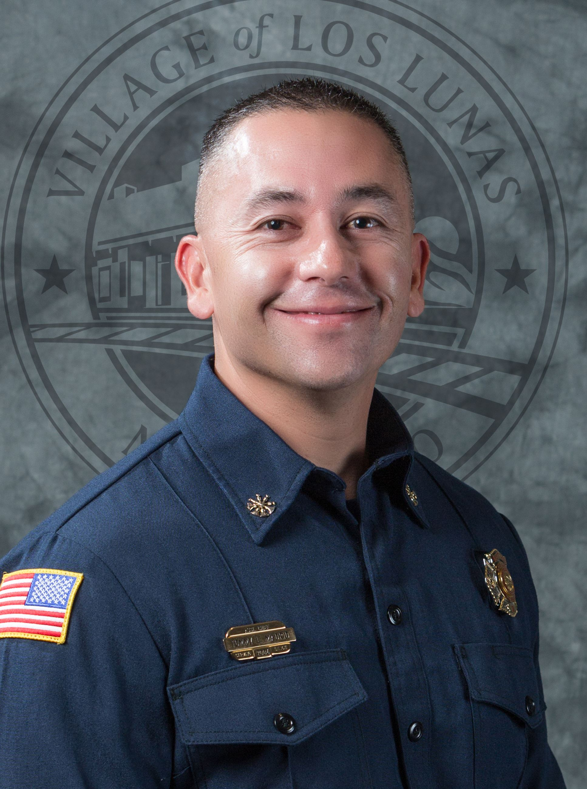 Tommy Madrid, Assistant Fire Chief