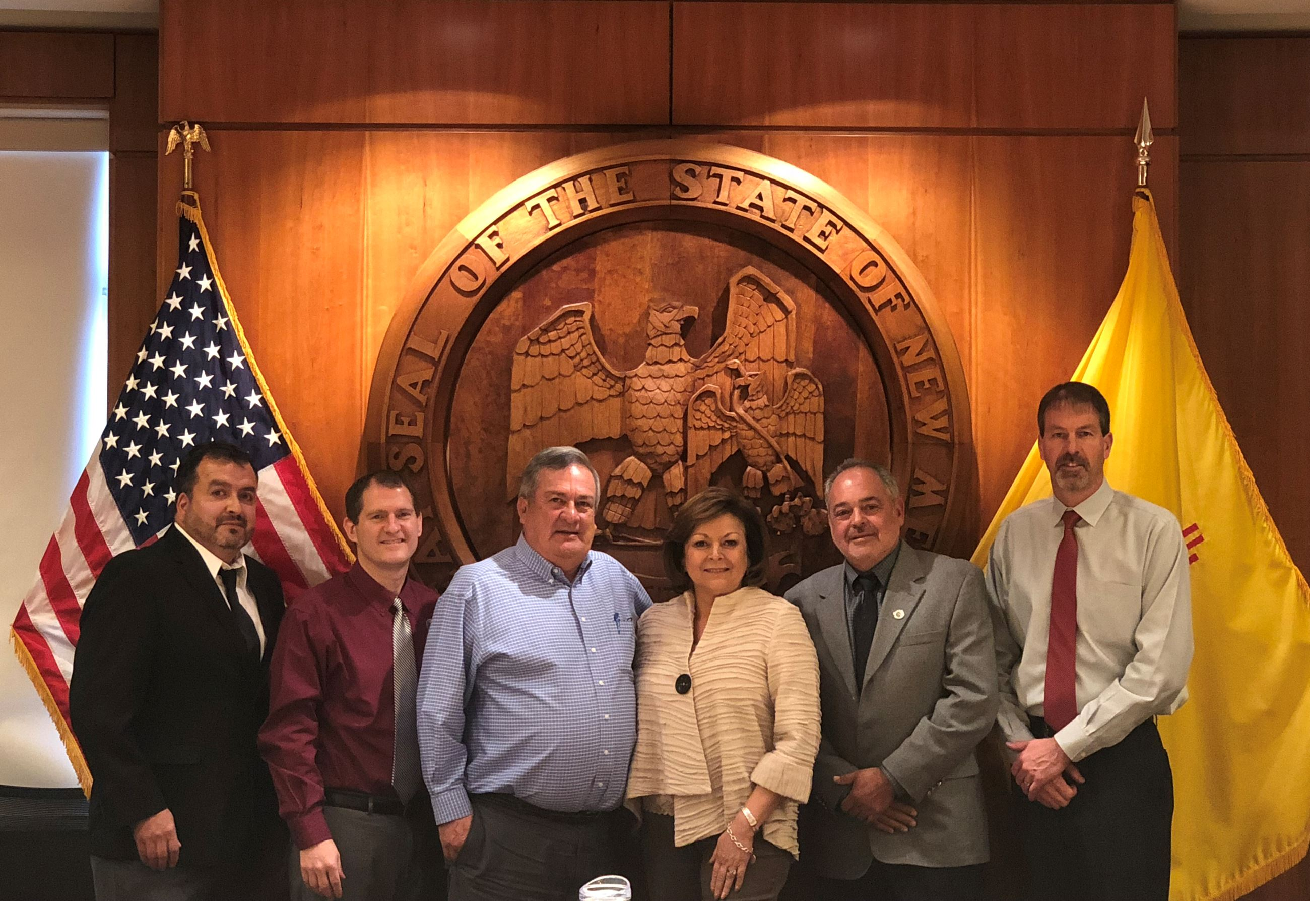 Los Lunas, Valencia County, local legislators, and Los Lunas Schools met with the Governor's office