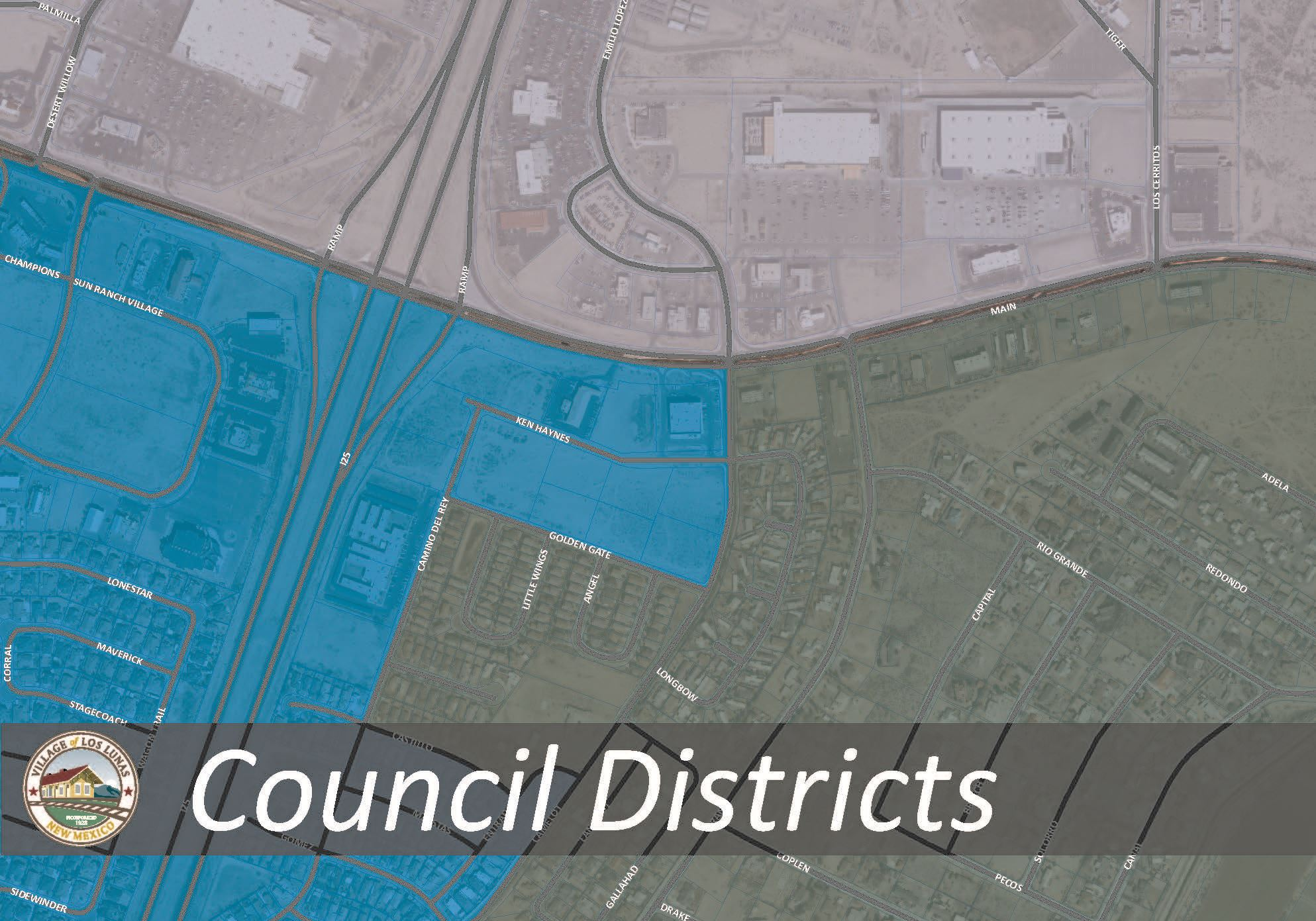Council Districts Updated