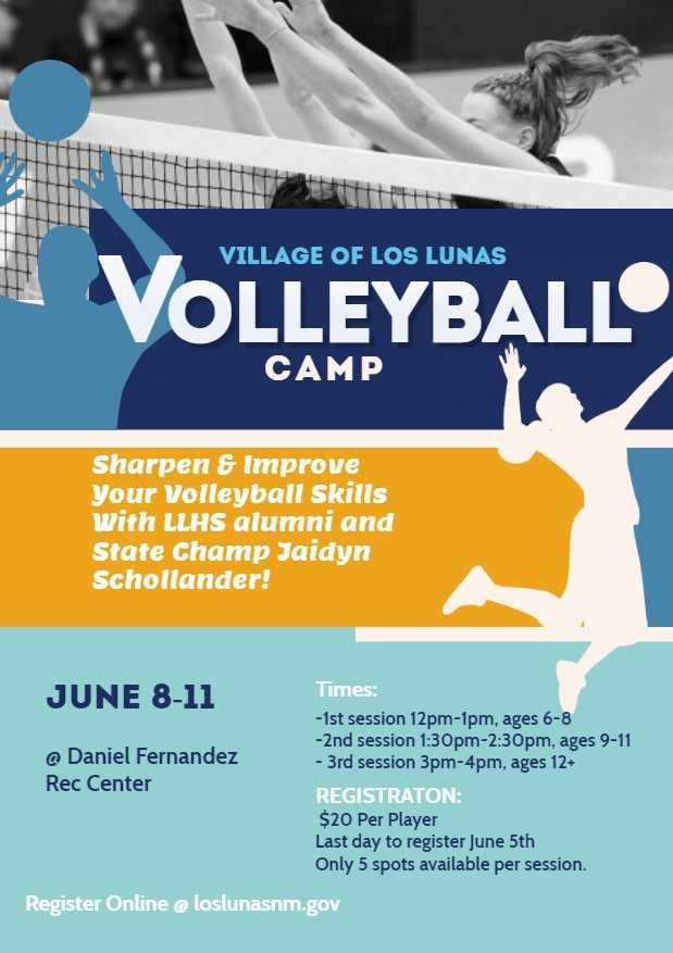 Volleyball Camp 2020