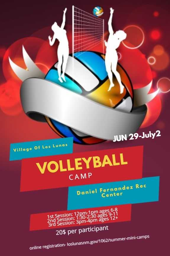 Volleyball Camp 2